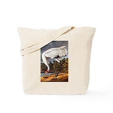 Audubon Whooping Crane Bird Tote Bag