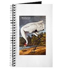 Audubon Whooping Crane Bird Journal