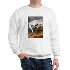 Audubon Whooping Crane Bird (Front) Sweatshirt