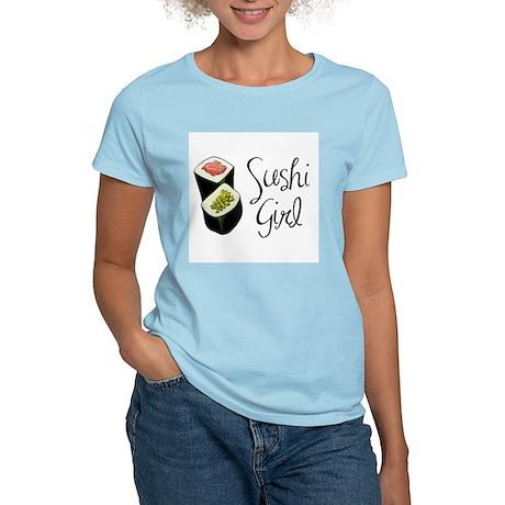 Sushi Girl Women's Light T-Shirt