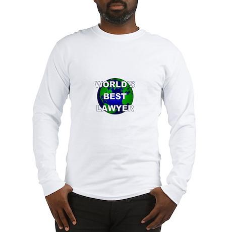 World's Best Lawyer Long Sleeve T-Shirt
