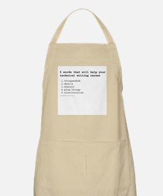 Technical Writer BBQ Apron