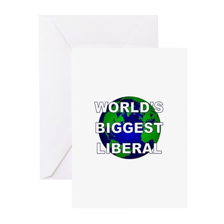World's Biggest Liberal Greeting Cards (Pk of 10)