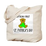 MY BEARY FIRST ST. PATRICK'S DAY Tote Bag