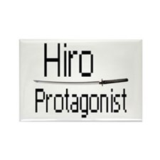 Hiro Protagonist Rectangle Magnet