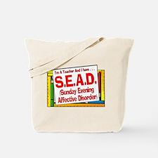 SEAD! (Red) Tote Bag