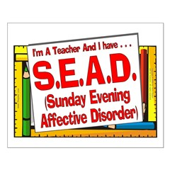 SEAD! (Red) Posters