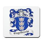Engelbrecht Family Crest Mousepad