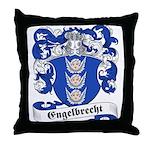 Engelbrecht Family Crest Throw Pillow