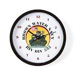 RivDiv 532 River Rats Wall Clock