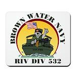 RivDiv 532 River Rats Mousepad