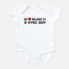Belongs To A HVAC Guy Infant Bodysuit