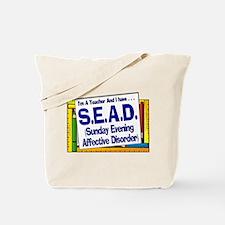 SEAD! (Blu) Tote Bag