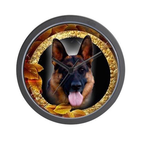 Awesome German Shepherd Wall Clock