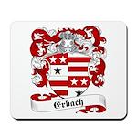 Erbach Family Crest Mousepad