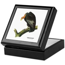 Audubon California Condor Bird Keepsake Box