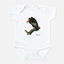 Audubon California Condor Bird Infant Bodysuit
