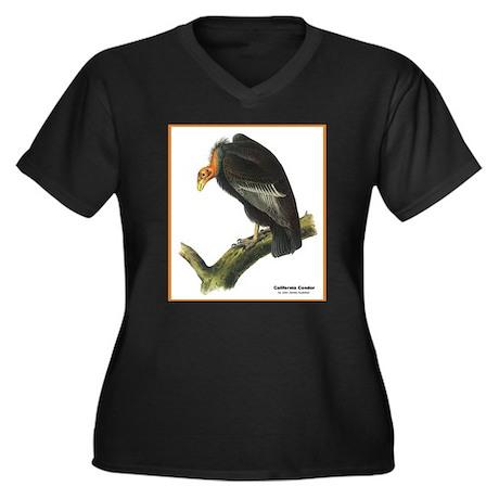 Audubon California Condor Bird (Front) Women's Plu