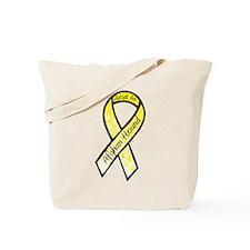 Afghan RibbonC Tote Bag