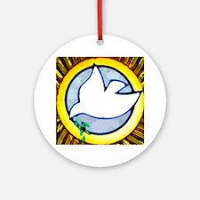 Peace/Serenity Ornament (Round)