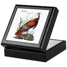 Audubon Wild Turkey Bird Keepsake Box