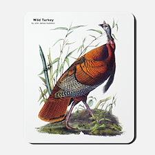 Audubon Wild Turkey Bird Mousepad