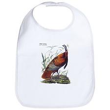 Audubon Wild Turkey Bird Bib