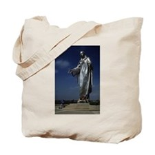 Giant Statue of the Holy Moth Tote Bag