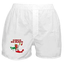 Cinco de Mayo Mexican Boxer Shorts