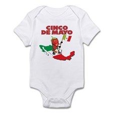 Cinco de Mayo Mexican Infant Bodysuit