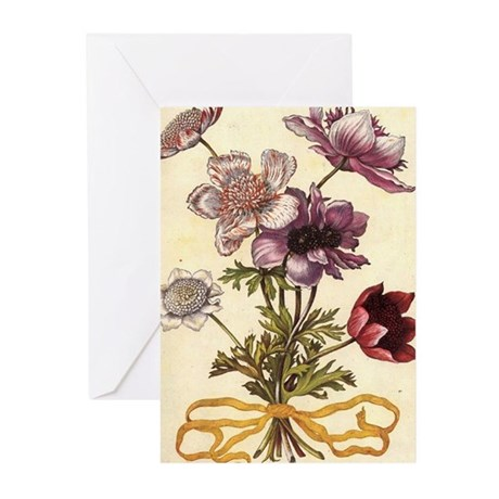 Anemones by Merian Greeting Cards (Pk of 10)