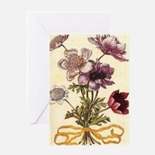 Anemones by Merian Greeting Card