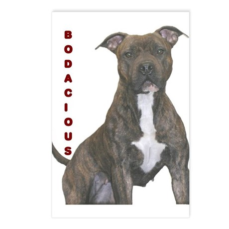 BODACIOUS!!!! Postcards (Package of 8)