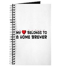 Belongs To A Home Brewer Journal
