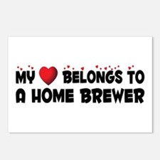 Belongs To A Home Brewer Postcards (Package of 8)