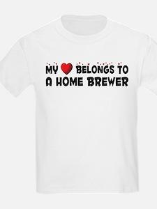 Belongs To A Home Brewer T-Shirt