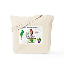 Social Work Month Desk2 Tote Bag