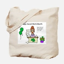 Social Work Month Desk2 Tote Bag