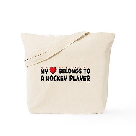 Belongs To A Hockey Player Tote Bag