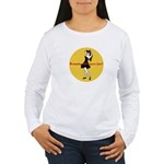 BRUNETTES HAVE MORE FUN Women's Long Sleeve T-Shir