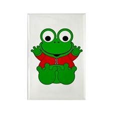 One Year Old Frog Rectangle Magnet