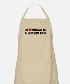 Belongs To A Hockey Fan BBQ Apron