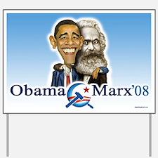 Obama/Marx 08 Yard Sign