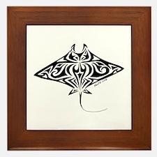Manta Ray Framed Tile