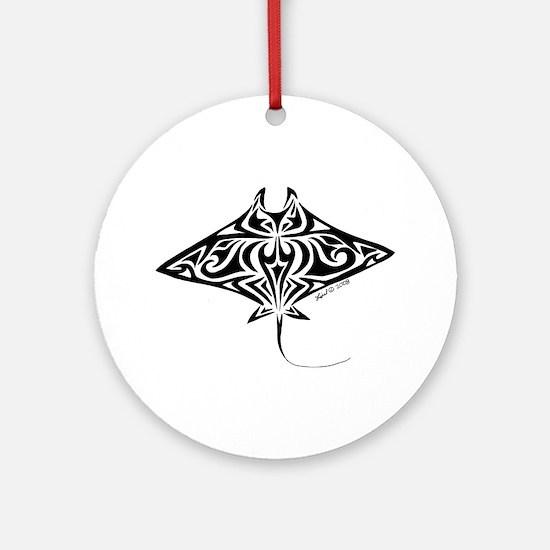 Manta Ray Ornament (Round)