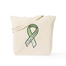 Malamute RibbonD Tote Bag