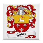 Faber Family Crest Tile Coaster