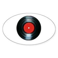 vinyl Oval Decal
