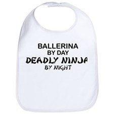 Ballerinia Deadly Ninja Bib