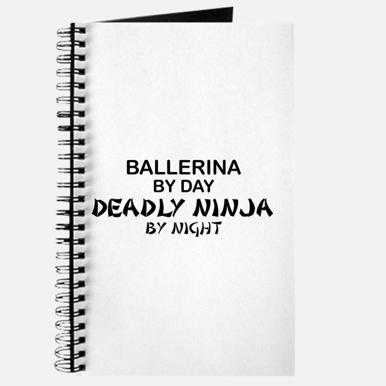 Ballerinia Deadly Ninja Journal